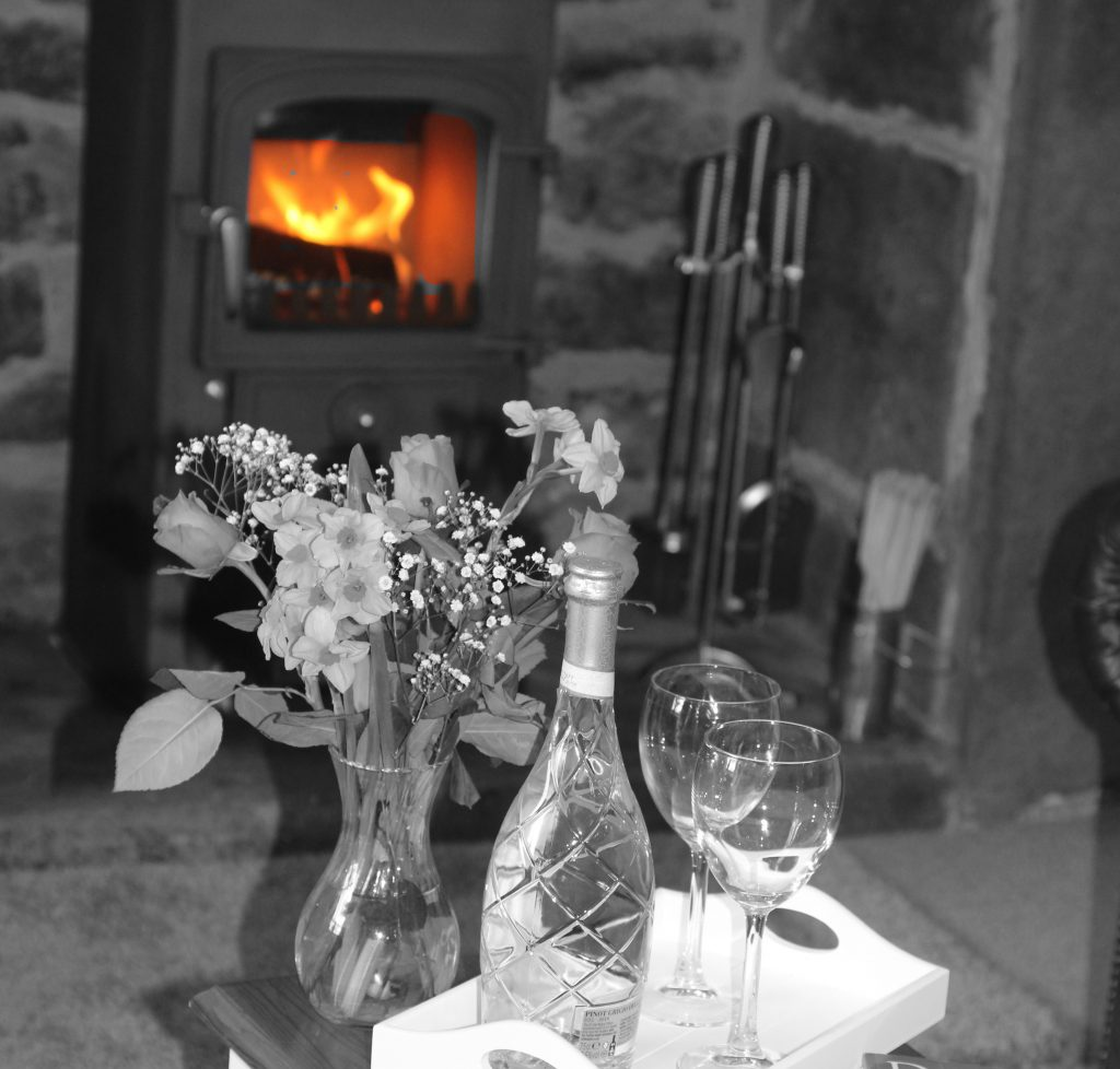 holiday cottage log burner